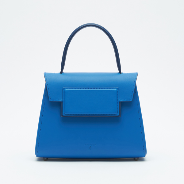 Min-trapezium bag Blue