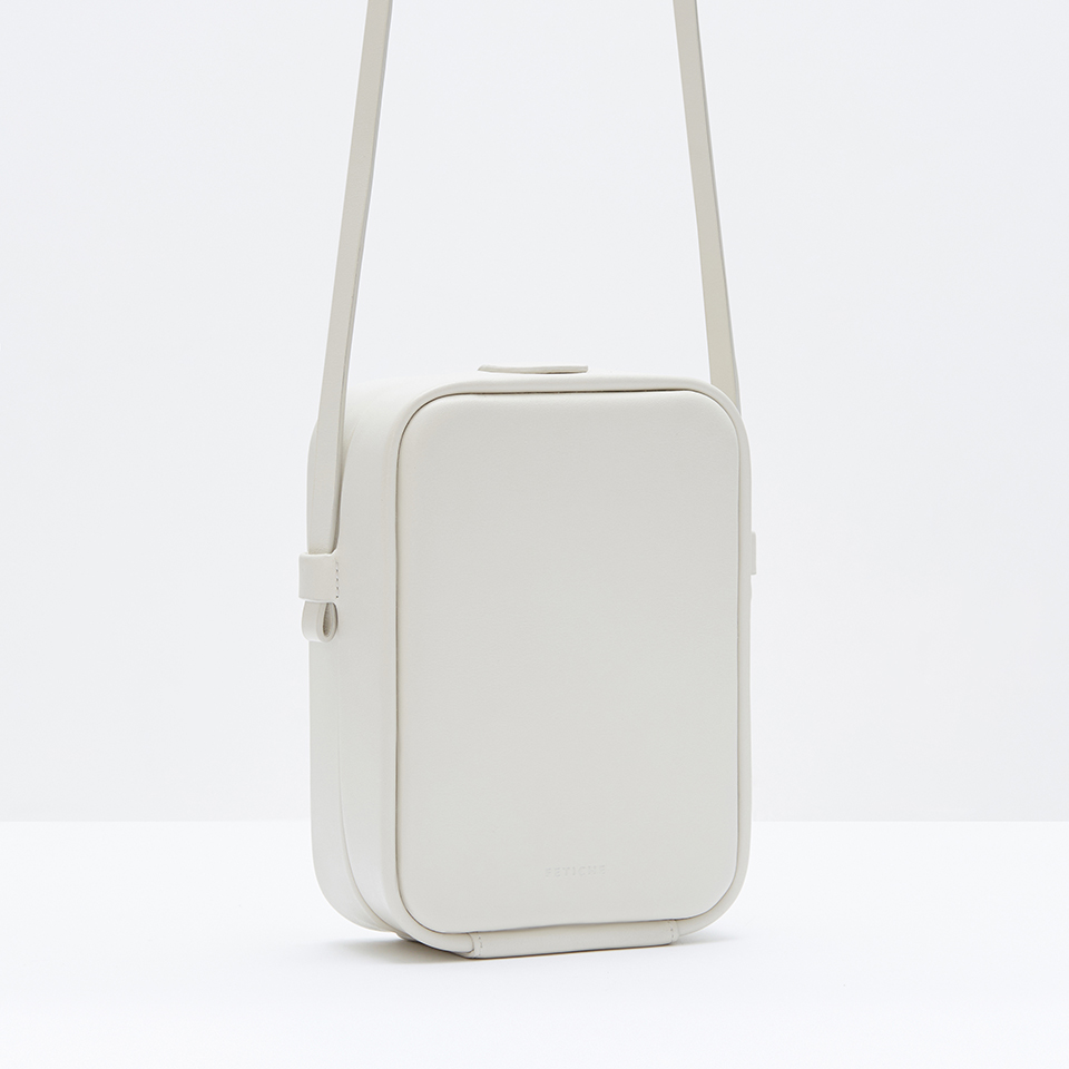 Cube-cell Bag Powder Blanc