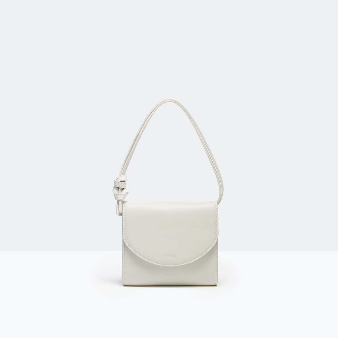 LÚNA BAG OFF-WHITE, серо-белый