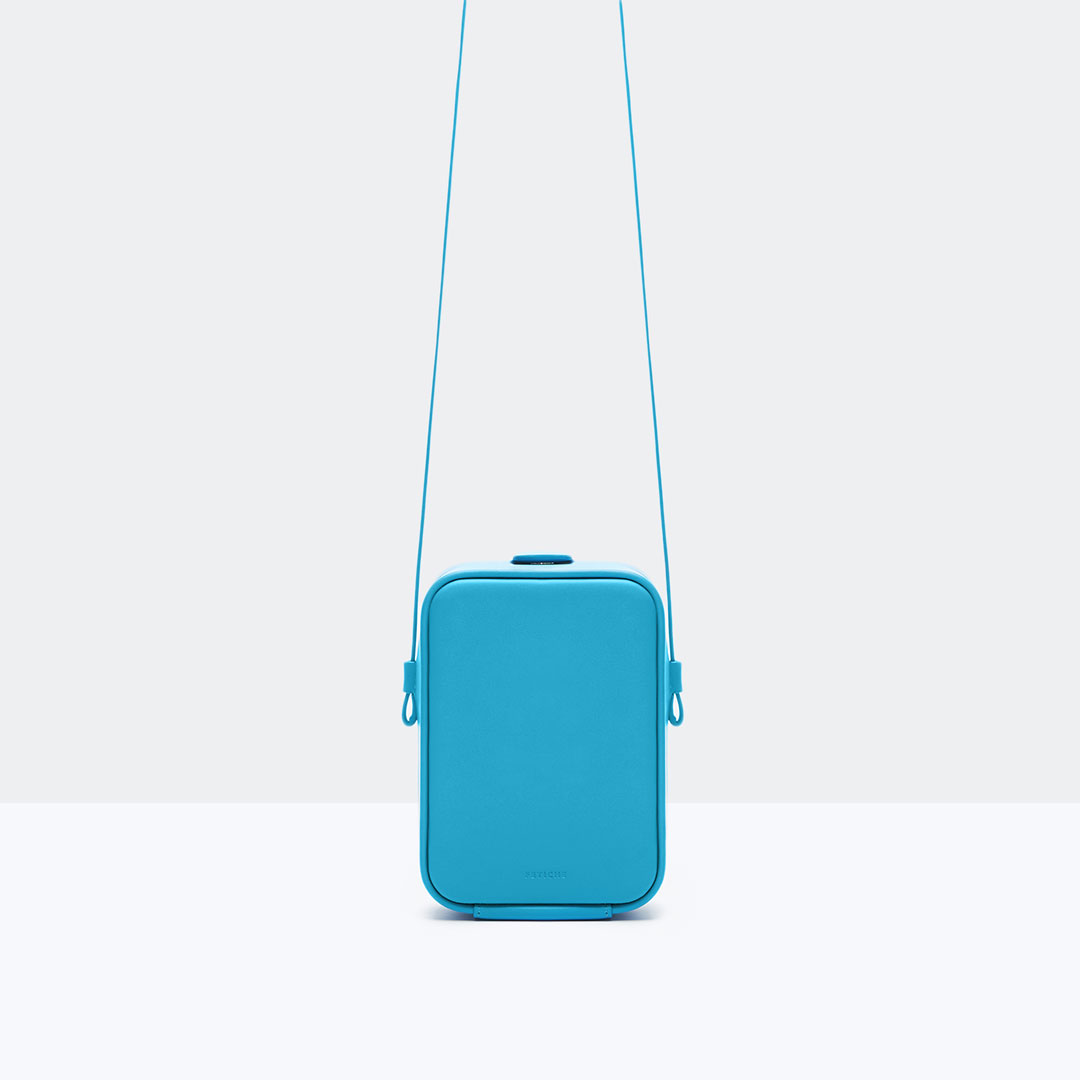 Cube bag mobile Adriatic Blue