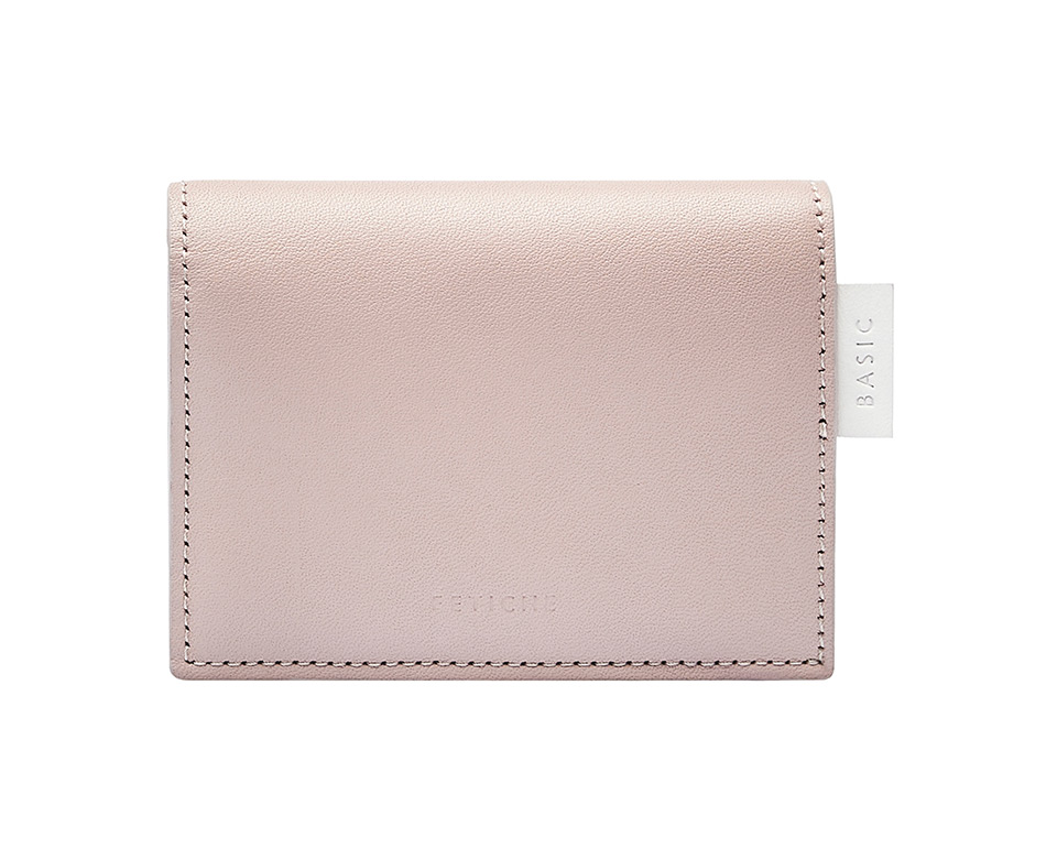 Mini wallet, nude