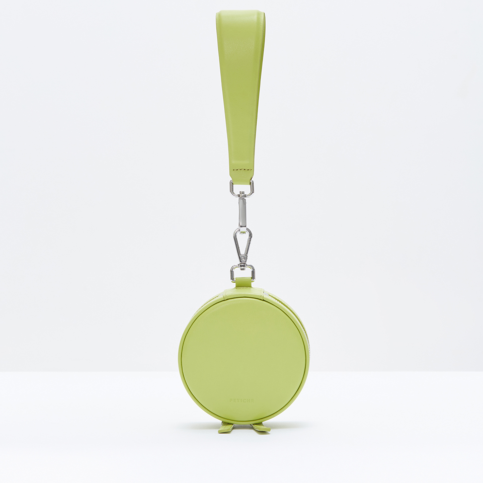 Round Purse Lime