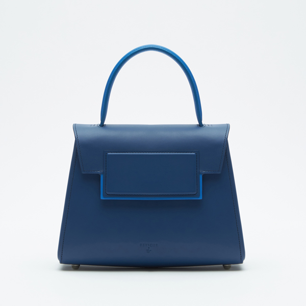 Mini-trapezium bag Navy