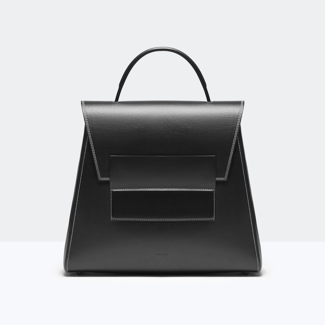 Trapezium-bag big BLACK SERIE
